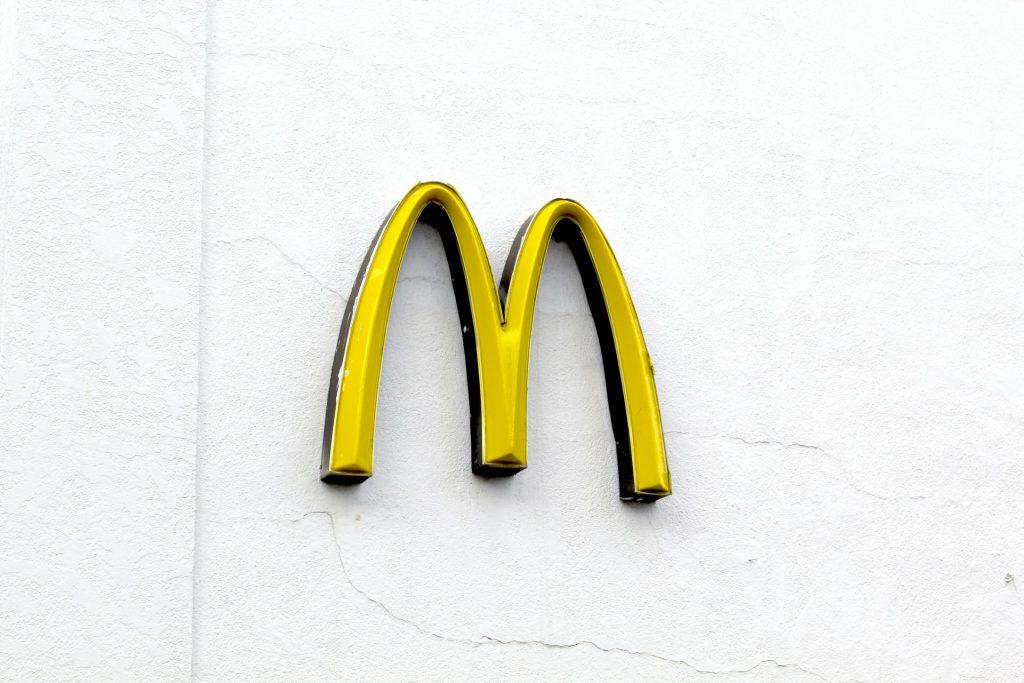 McDonald's logo signboard